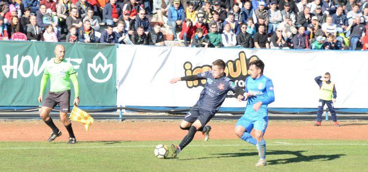 FC Hermannstadt rămâne lider după egalul cu Mioveni