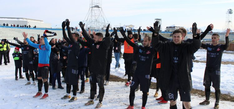FC Hermannstadt s-a calificat in semifinalele Cupei României