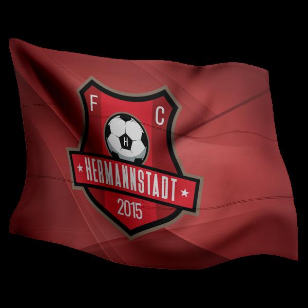 Steag personalizat FC Hermannstadt